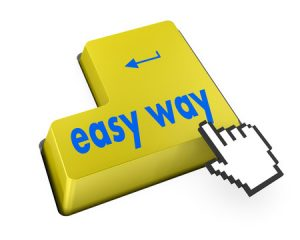 IT marketing easy way button