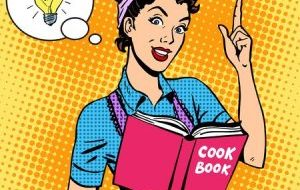 cook and cookbook